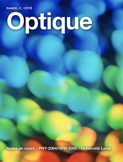"New version of the iBook ""Optique"" in french"