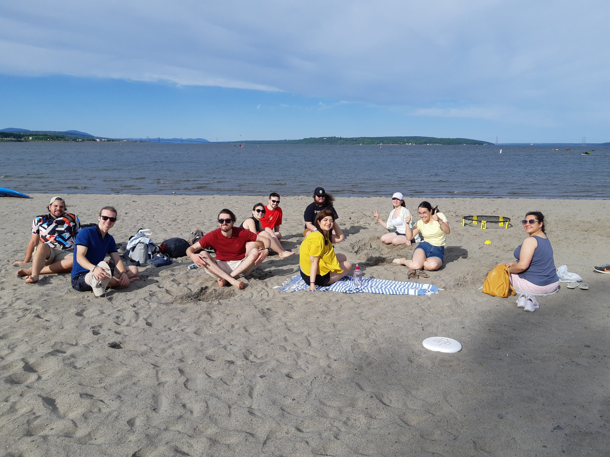 DCC Lab at the beach